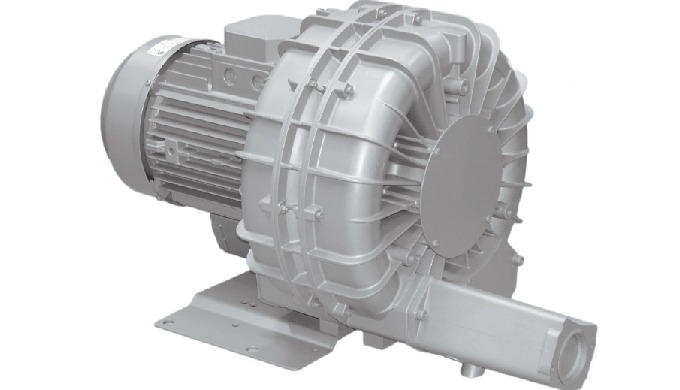Two-stage blower