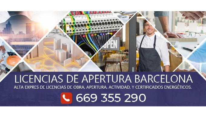 Tramitamos licencias de apertura express para que pueda abrir su negocio en Barcelona, Girona, Tarra...