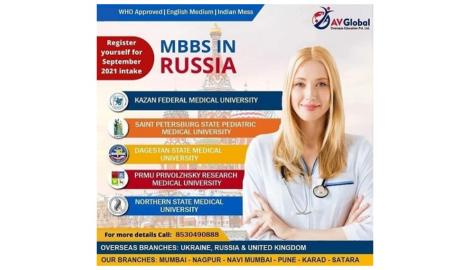 To pursue MBBS in Russia 2021–22 it is the dream of many Indian students who want to become a succes...