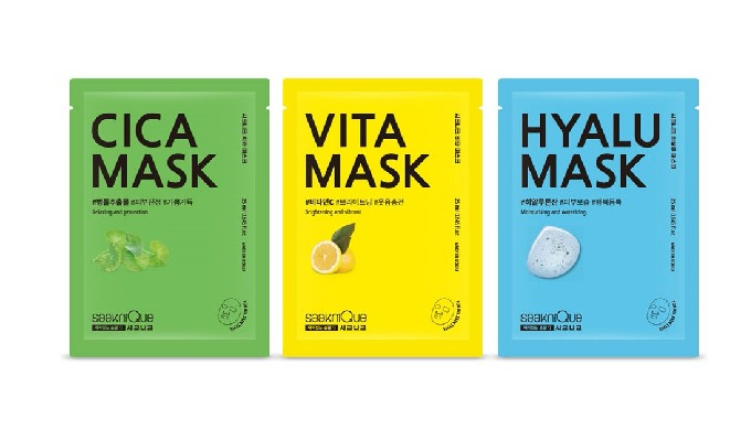 CICA, VITA, HYALU MASK (3 Type)_Beauty masks