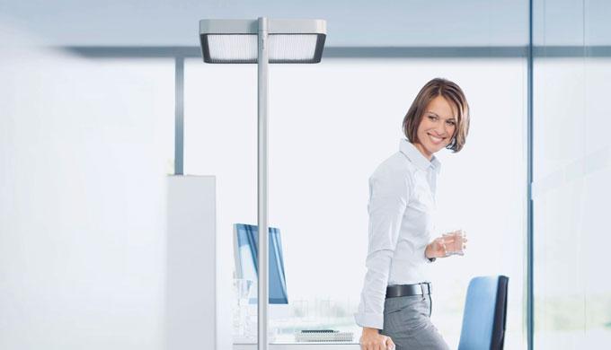 LED per l'illuminazione generale e dell'area di lavoroElemento di comando multifunzione facilmente r...