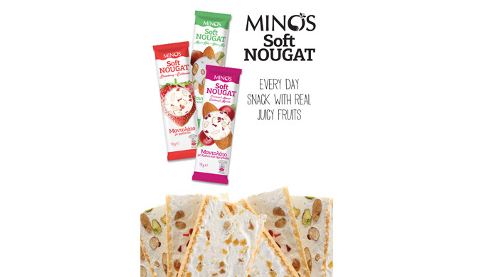 MINOS NUT BARS HEALTHY SNACK