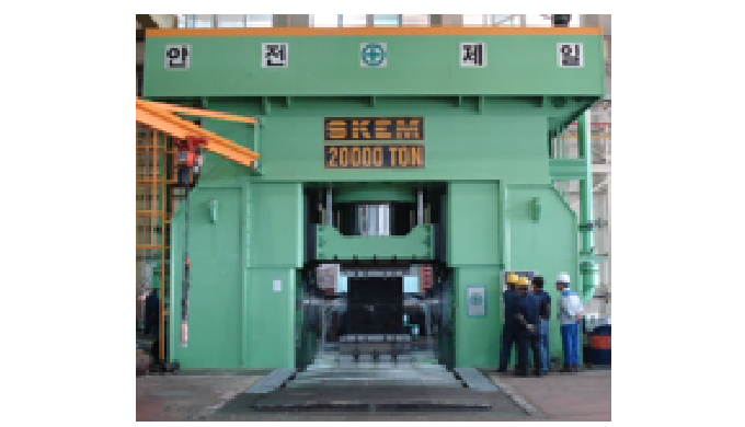 20,000Ton Tee Cold Forming Press