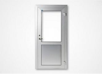 Enkeldörr, dubbeldörr eller skjutdörr ODS45. Sidoljus och/eller överljus. Helt eller delvis glasad e...
