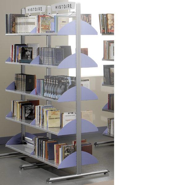 Pour composer votre bibliothèque :Sélectionnez une hauteur de structure / Déterminez le nombre d'élé...