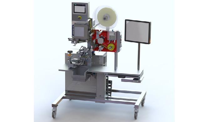 Halbautomatisches Druck- und Etikettiersystem Swissness - Entwicklung und Herstellung in der Schweiz