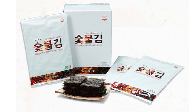 1-2) Barbecue seaweed   roasted seasoned laver