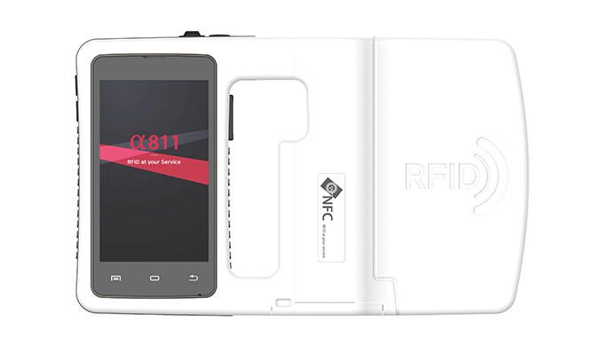 α811 All in one RFID reader a811 is an all in one UHF RFID reader based on Android operating system....