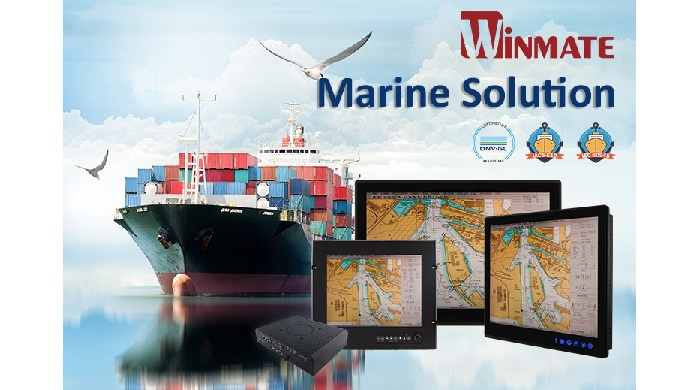Winmate DNV Approved Marine Panel PC and Display