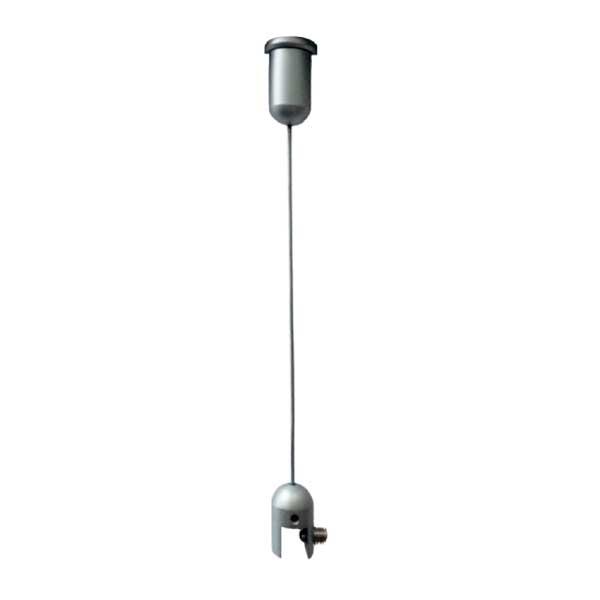 Idéal pour suspendre panneaux rigides, plaques, signalétique, etc.Accepte toutes épaisseurs comprise...