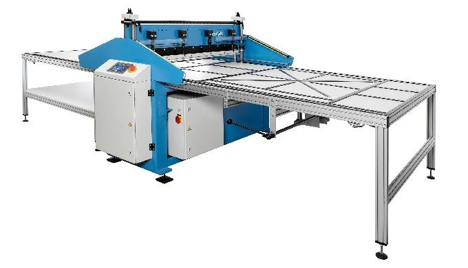 Leistungsfähige, hochpräzise Zackenmuster-Schneidmaschine, geeignet für eine Vielzahl von verschiede...