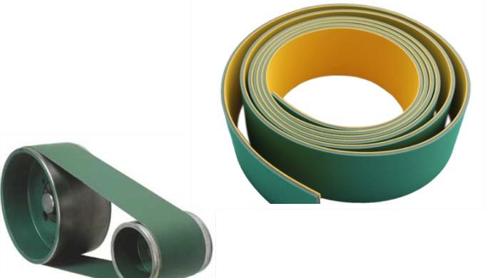 La courroie plate est utilisée pour transmettre une force mécanique d'une poulie a une autre poulie....