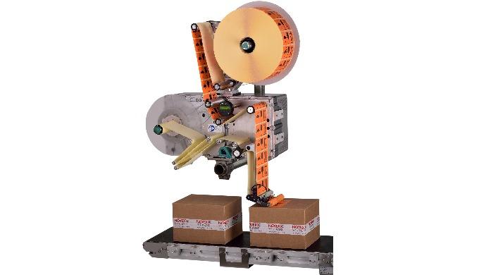 Leistungsstarkes Etikettiersystem für extrem hohe Spendegeschwindigkeiten von bis zu 60 m/minModular...