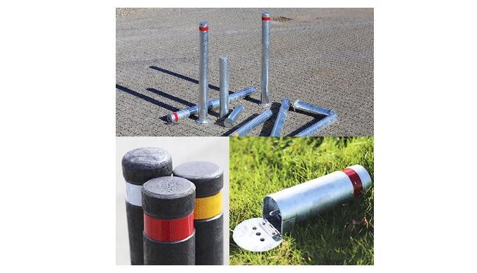Pullerter eller steler anvendes både på private og offentlige områder, hvor der er behov for afspærr...