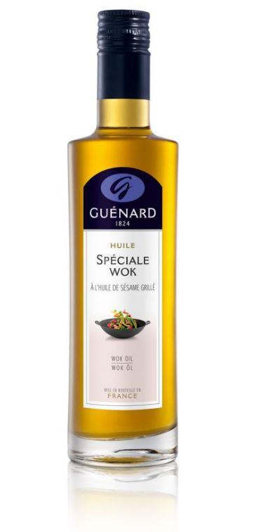 L'Huile Spéciale Wok est l'huile asiatique par excellence de Guénard. C'est une huile aromatisée aux...