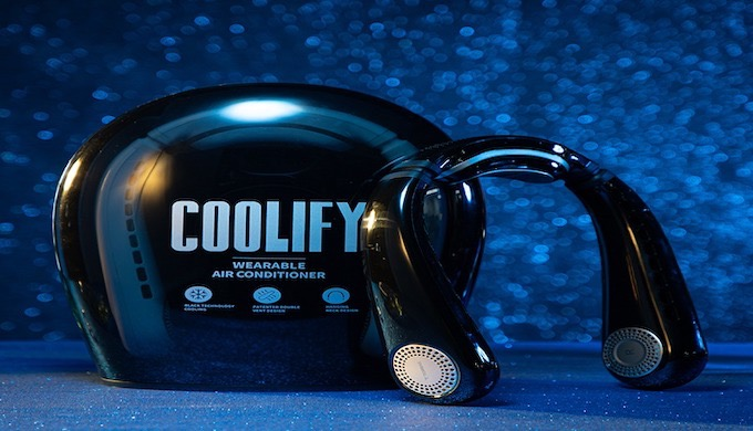 Coolify Wearable Air Conditioner Torras Get your Coolify right now to cool down your body temperatur...