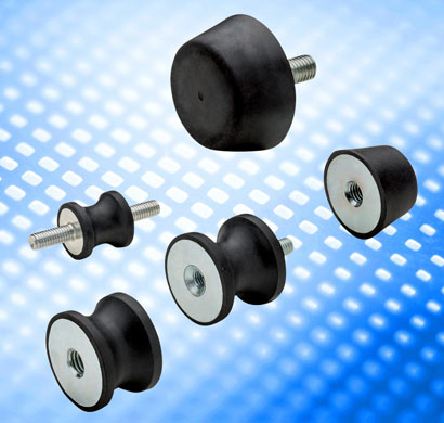 The new DVB and DVC rubber bushes from Elesa offer vibration damping for mounting of motors, rotatin...