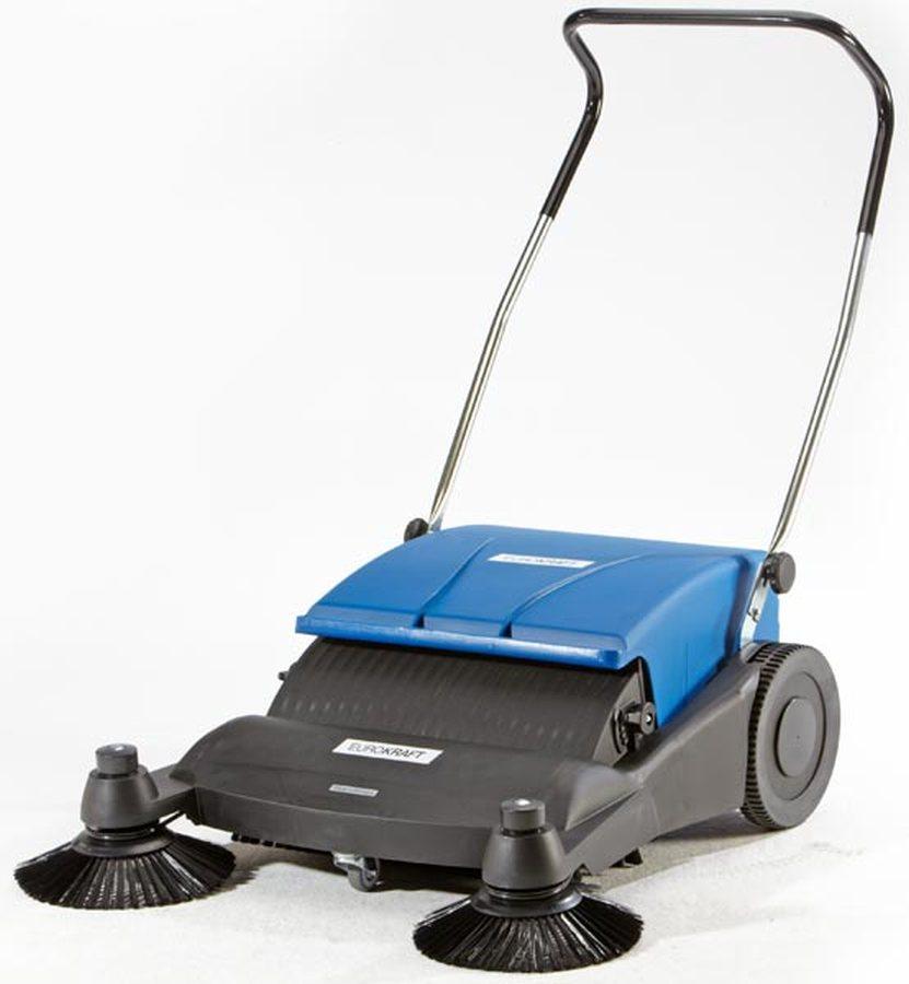 Ideal zum Kehren aus Kanten. Besonders geeignet für feinen und groben, trockenen und nassen Schmutz ...