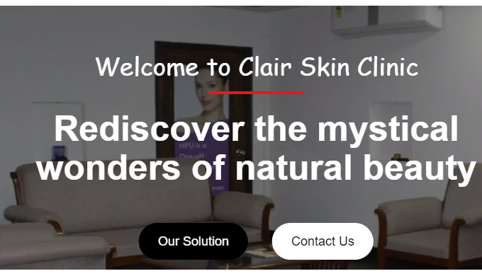 Clair Skin Clinic is the best skin clinic in Delhi. The Team of qualified dermatologist and skin spe...