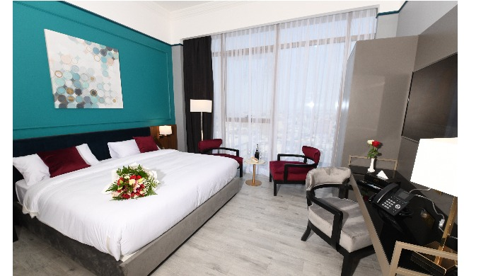 hospitallity service, rooms and restaurant