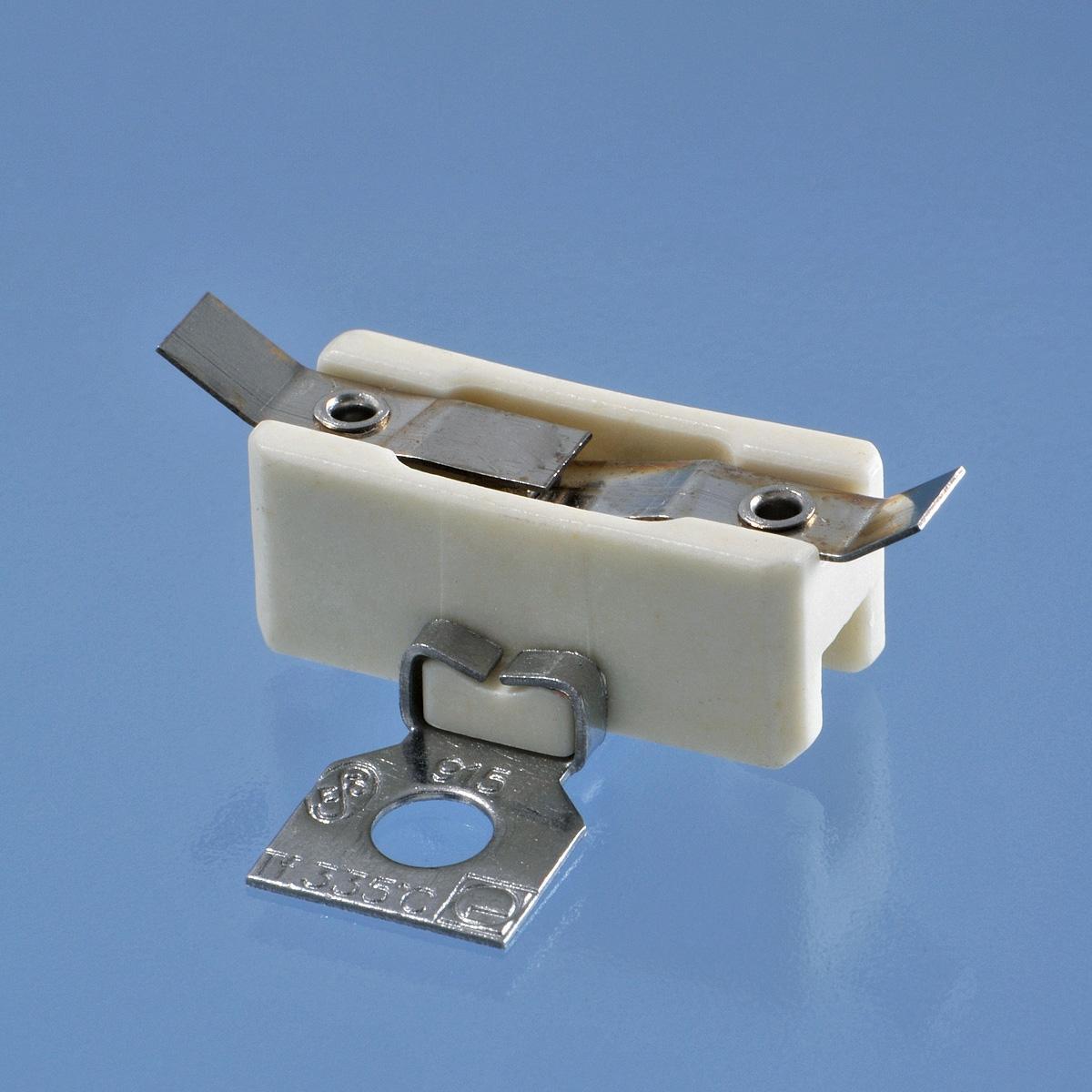 Nevratná pojistka slouží jako bezpečnostní prvek, například při selhání termostatu.