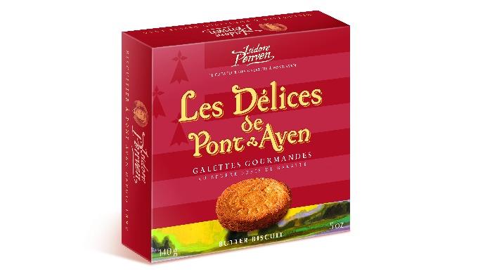 Etui Galettes Gourmandes à Pont Aven (Palets Bretons)