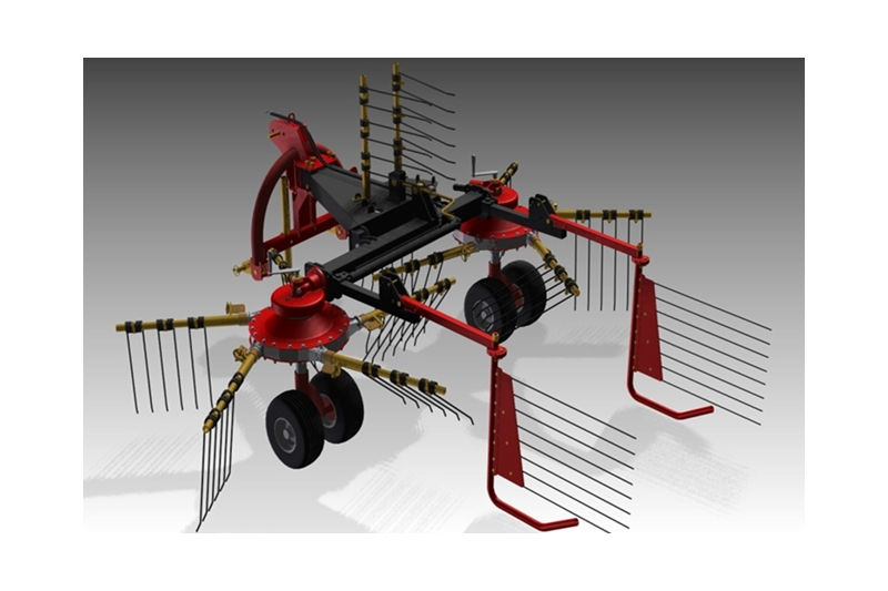 - Type : Rake - Usages : 1. Enclosed built-in cam track gearbox ensures excellent durability and rak...