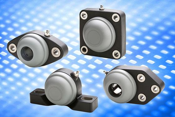 Elesa's UC range of self-aligning flange bearings offer installation for rotating shafts on equipmen...