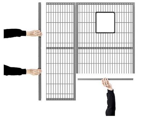 Troax paneler och stolpar är kvalitetstestade tillsammans med infästningssystemen och godkända för a...