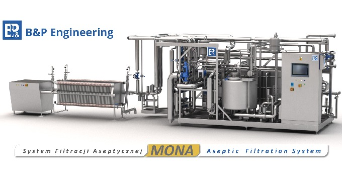 The MONA System is a patented, compact device for the hygienic filtration process during which Alicy...