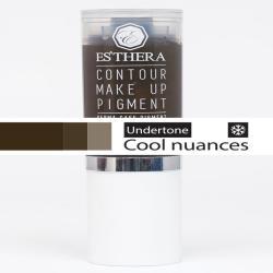 Semi-permanent make-up pigment