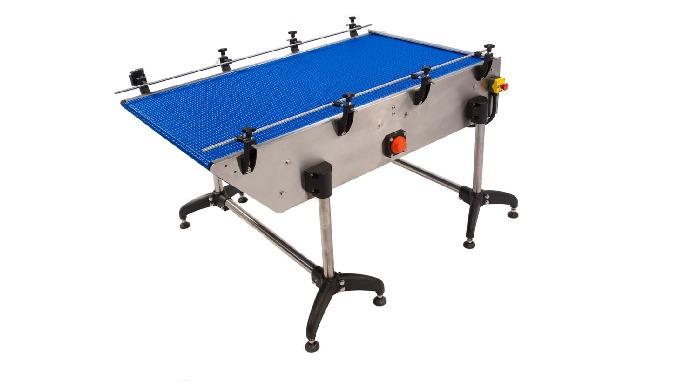 Conçue par CDA, la table de chargement/déchargement par tapis modulaire permet une alimentation auto...