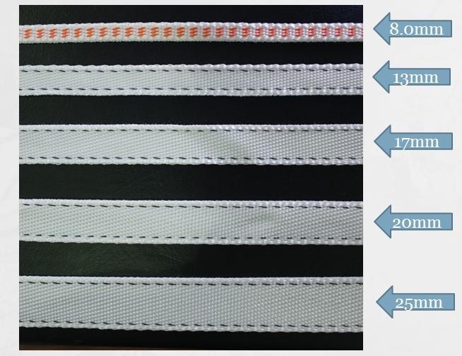High-strength band textile
