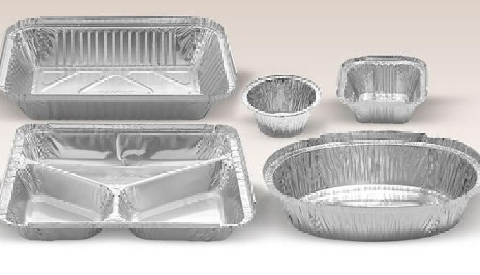 Food grade Aluminium foil pans with various thickness and shapes in high durability for house hold c...