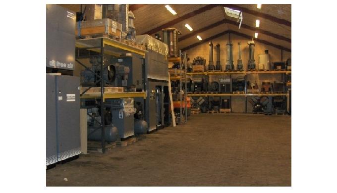 FH Trykluft,  Kompressorer i flere størrelser