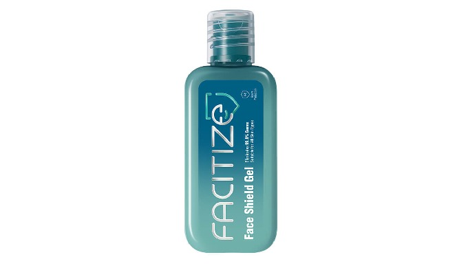 The Face Sanitizer with no alcohol formula that contains the goodness of five essentials oils- that'...
