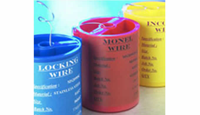 Locking wire (safety lock wire) is a soft annealed wire that is used extensively in the aerospace, m...