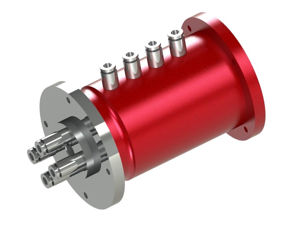 Passage tournant multiples pour pneumatique Propriétés du produit:Construction par segmentsFaible po...