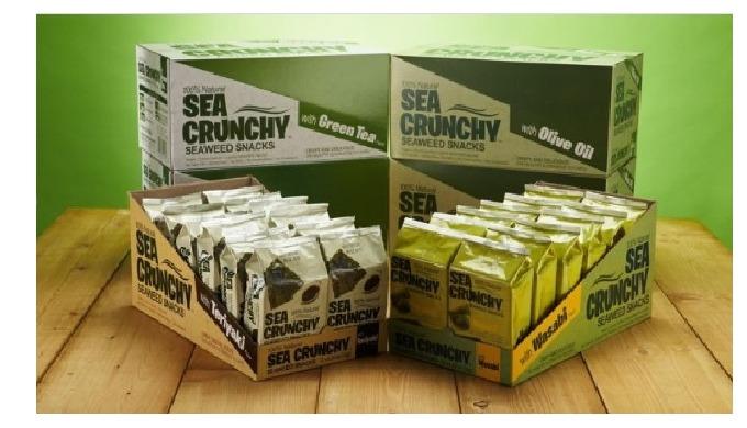 Merienda de algas marinas (Health Seaweed Snack)