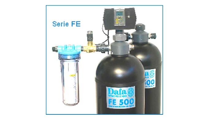 Los equipos de la Serie FE tienen un sólo botellón y la Serie FE Dúo se suministra con dos botellone...