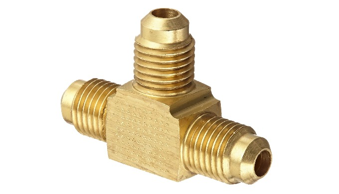 Brass Flare Union Tee Brass http://goldstarbrassindustries.com/brass-flare-fittings/