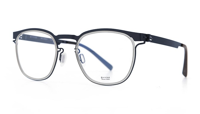'Incline X' is sheet metal glasses collection. It's motivated from VYCOZ's best sun original collect...