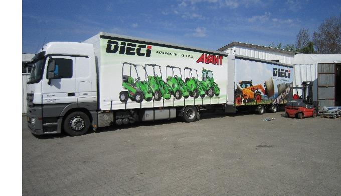 Trucks print på skydegardiner! Budskab & reklame fremhævet via mobile branding. Derved sikrer vi en ...