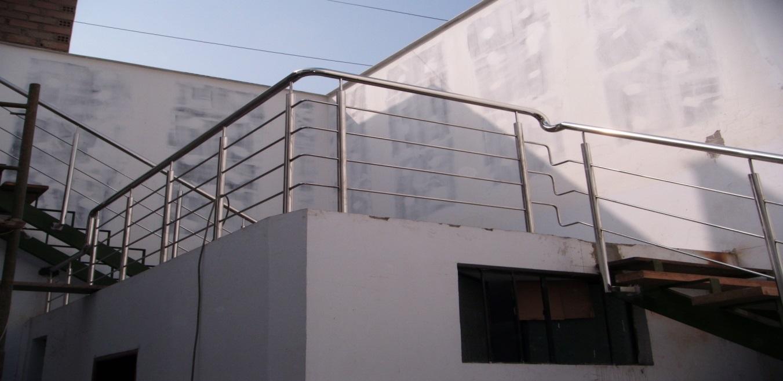 baranda acero inoxidable balcones