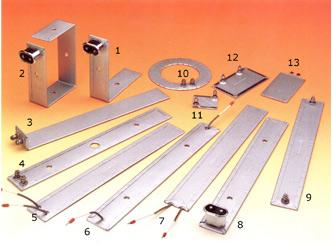 Resistencias planas, acodadas y coronas circulares: Datos necesarios para la fabricación: Longitud,a...