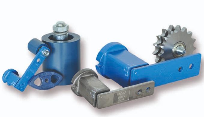 Die Konzeption und Fertigung von Maschinenkomponenten für das wartungsfreie Spannen von Riemen- und ...