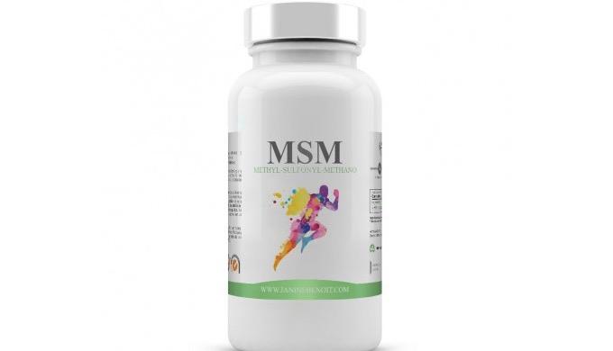 MSM es un complemento alimenticio 100% natural en cuyo desglose nutricional destacamos de manera pri...