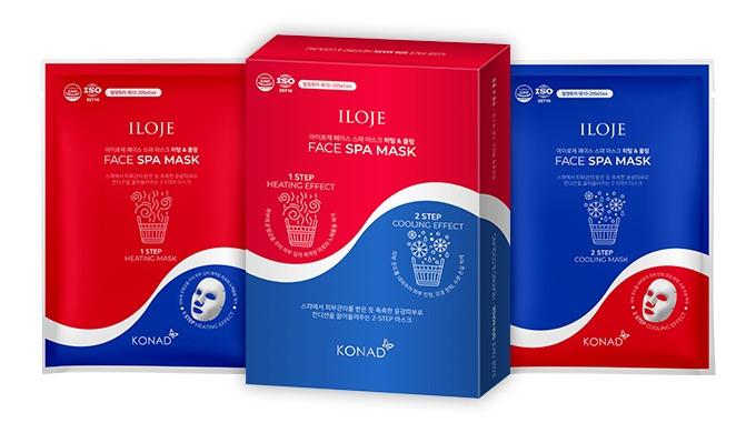 ILOJE Face Spa Mask-Heating&Cooling(6 sheets)
