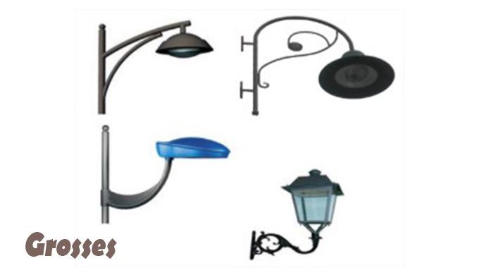 Eclairage public Poteau lumineux. poteau · Poteaux lumineux. Poteaux étanches en inox. Détails du Pr...
