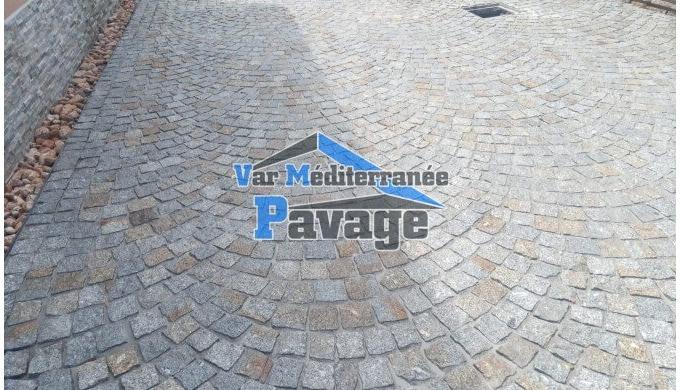 Var Méditerranée Pavage est une entreprise spécialisée en pavage exterieur avec pavés carrossables e...